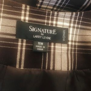 Signature by Larry Levine Jackets & Coats - Signature Larry Levine Blazer 3/4 Sleeves